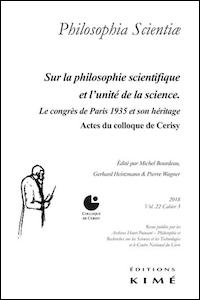 Sur la philosophie scientifique et l'unité de la science