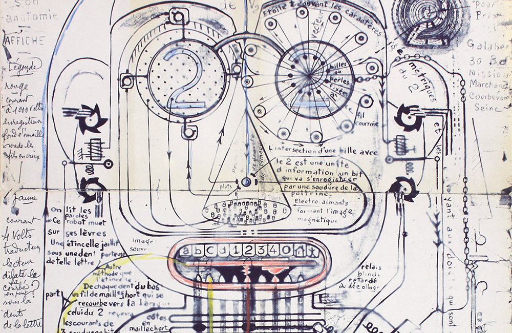 """Illustration du colloque """"De quoi l'Art brut est-il le nom ?"""" (2020)"""