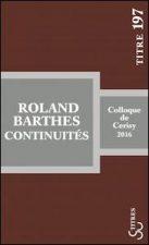 Roland Barthes : continuités
