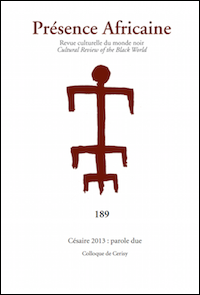 Césaire 2013 : parole due
