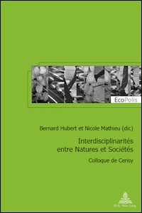 Interdisciplinarités entre Natures et Sociétés