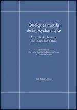 Quelques motifs de la psychanalyse. À partir des travaux de Laurence Kahn
