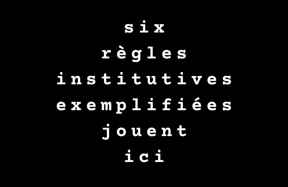"""Illustration de l'atelier """"Écrire dans les règles"""" (2020)"""