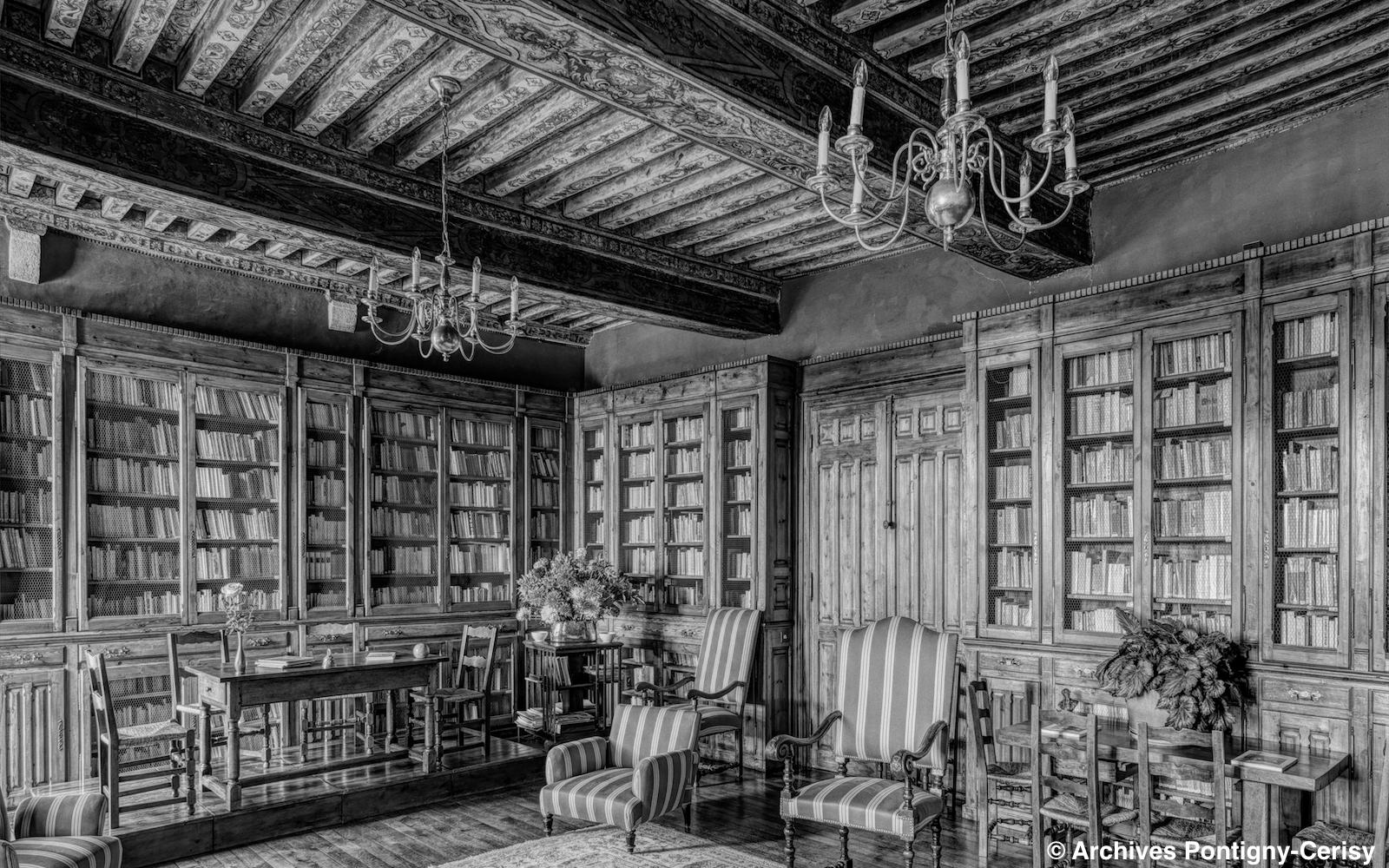 La bibliothèque de Cerisy
