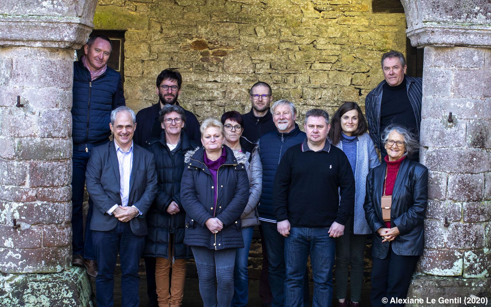L'équipe du CCIC (2020)