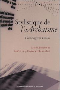 Stylistique de l'Archaïsme