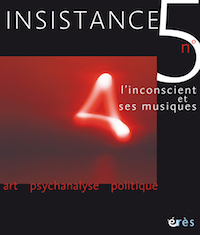 L'inconscient et ses musiques