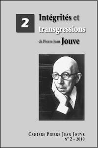 Intégrités et transgressions de Pierre Jean Jouve