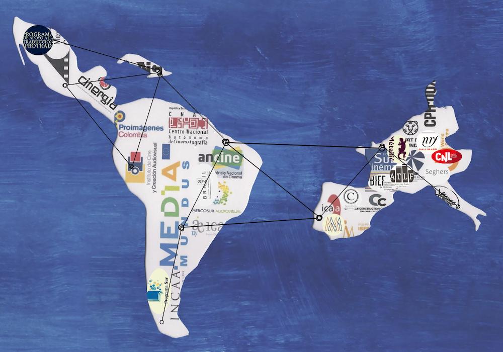"""Illustration du colloque """"Quels acteurs pour la diversité culturelle entre Amérique latine et France ? Littérature et Cinéma"""" (2021)"""