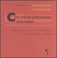 Cent ans de philosophie américaine